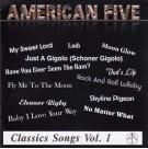 American Five - Classics Songs Vol 1