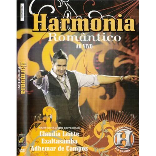 dvd harmonia do samba romantico